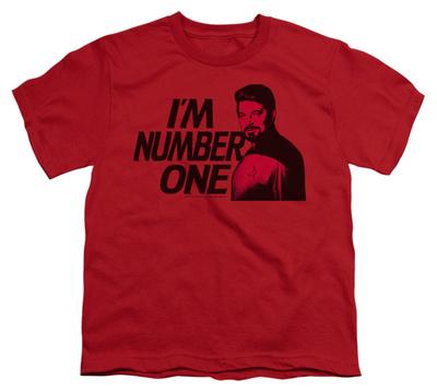Youth: Star Trek - Next Generation - I'm Number One T-shirts