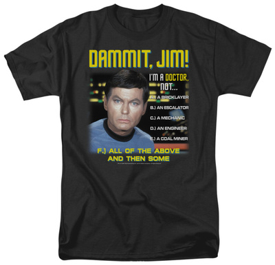 Star Trek - All of the Above T-shirts