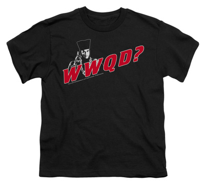 Youth: Star Trek - Next Generation - WWQD T-shirts