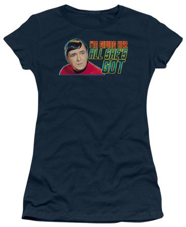 Juniors: Star Trek - All She's Got T-shirts