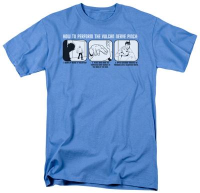 Star Trek - Vulcan Nerve Pinch Shirts