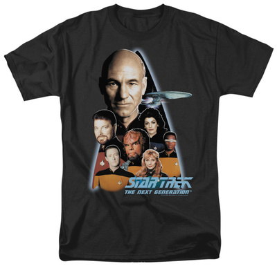 Star Trek - The Next Generation Crew T-shirts