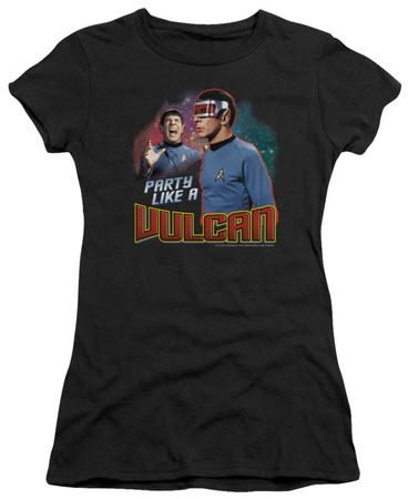 Juniors: Star Trek - Party Like A Vulcan T-shirts
