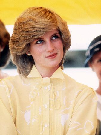 Princess Diana in Australia at St John's Ambulance Regional Center Photographic Print
