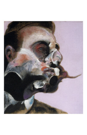 Study for a Portrait of George Dyer, c.1969 Print by Francis Bacon