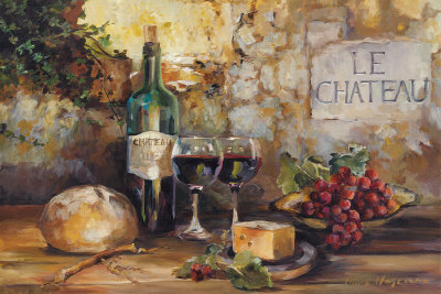 Le Chateau Art by Marilyn Hageman