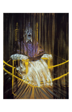 Study after Velazquez's Portrait of of Pope Innocent X, c.1953 Posters by Francis Bacon
