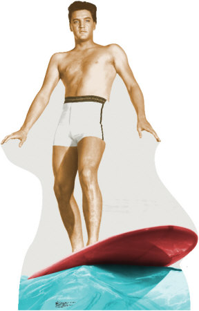 Elvis Surfing Stand Up