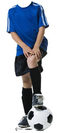 Soccer Boy Lifesize Stand-In Cardboard Cutouts