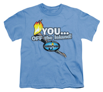 Youth: Survivor - You, Off the Island! T-shirts
