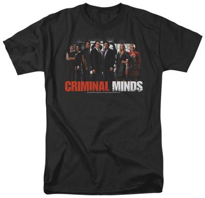 Criminal Minds - The Brain Trust T-shirts