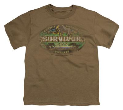 Youth: Survivor - Gabon Distressed Shirts