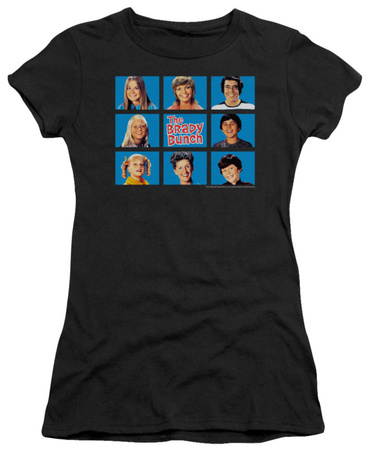 Juniors: The Brady Bunch - Framed T-Shirt