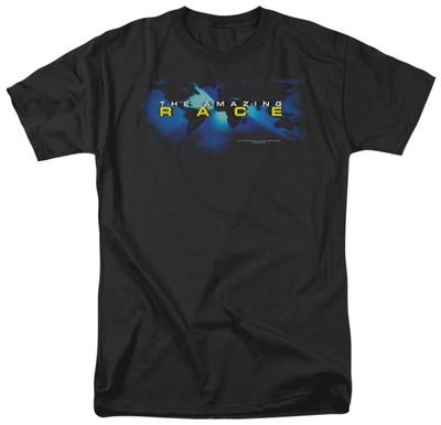 The Amazing Race - Faded Globe Shirts
