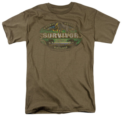 Survivor - Gabon Distressed T-Shirt