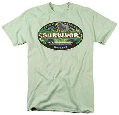 Survivor - Gabon Logo Shirts