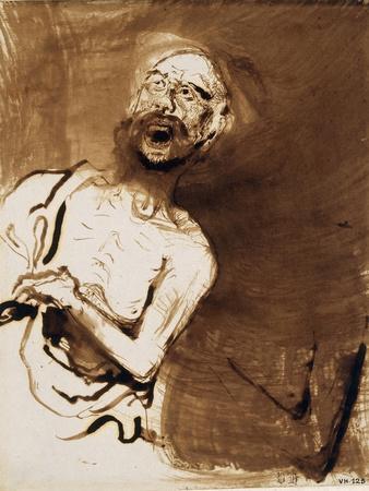 The Insane Giclee Print by Victor Hugo
