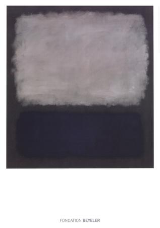 青、グレー 1961年 高画質プリント : マーク・ロスコ