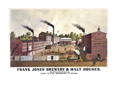 Frank Jones' Brewery and Malt Houses Premium Poster