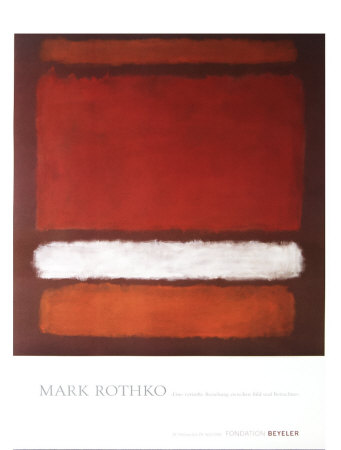 No. 7, 1960 Collectable Print by Mark Rothko