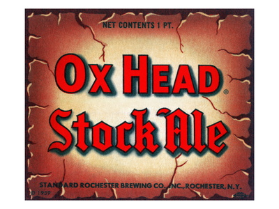 Ox Head Stock Ale Premium Poster