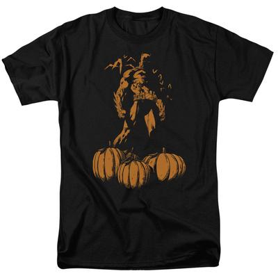 Batman- Bat Among Pumpkins T-Shirt