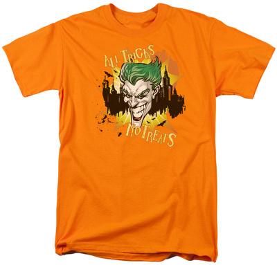 Batman- All Tricks, No Treats T-shirts