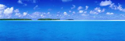 Aitutaki Lagoon Lámina fotográfica por Holger Leue