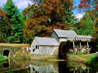 Mabry Mill Near Meadows of Dan Photographie