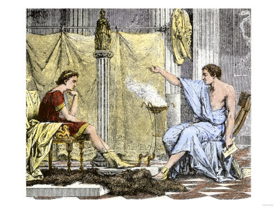 Aristotle Instructing the Young Alexander the Great reproduction procédé giclée