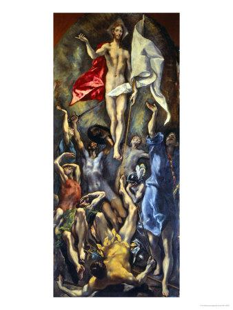 Resurrection Giclee Print by  El Greco
