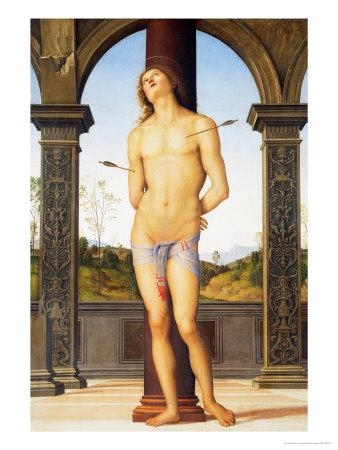 Saint Sebastian Giclee Print by Pietro Perugino