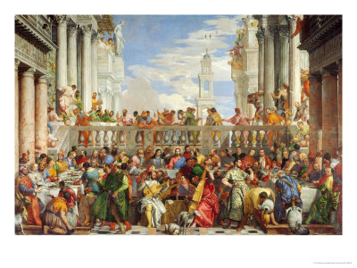 Marriage at Cana Giclee Print by Paolo Veronese