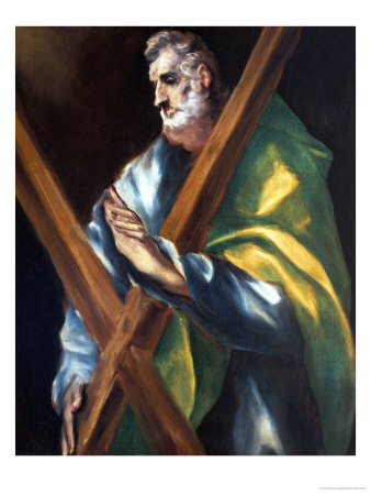 Saint Andrew Giclee Print by  El Greco