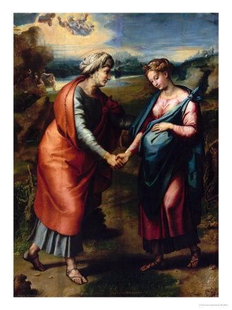 Visitation Giclee Print by  Raphael