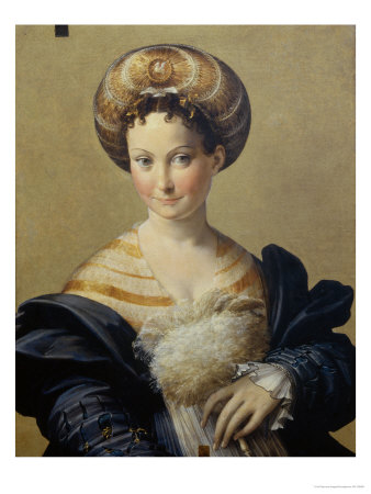 The Turkish Slave Girl Giclee Print by  Parmigianino