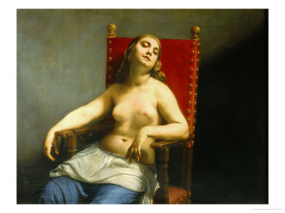 Cleopatra Dying Giclee Print by Guido Cagnacci