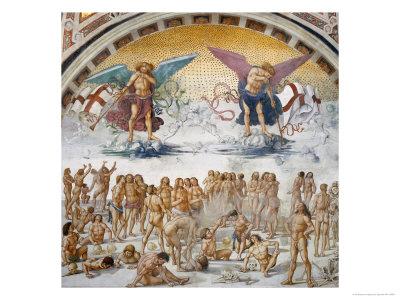 Resurrezione Della Carne Giclee Print by Luca Signorelli