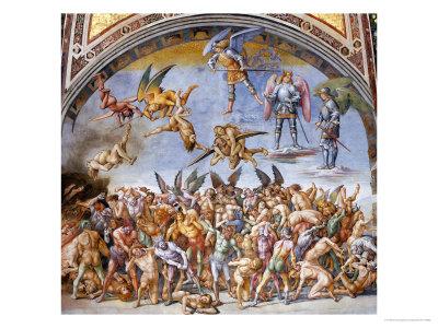 Dannati All'Inferno Giclee Print by Luca Signorelli