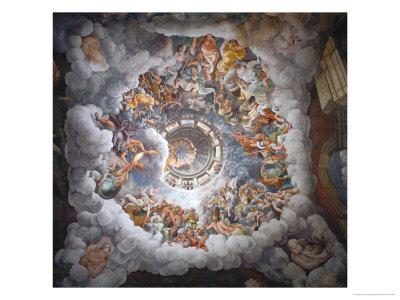 Olympus Giclee Print by Giulio Romano