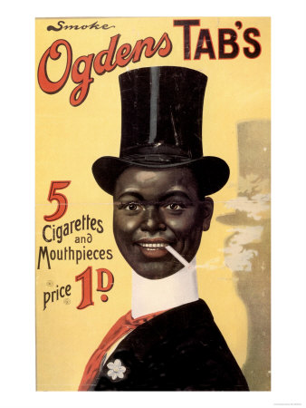 Cigarettes Smoking Ogden's, UK, 1900 Premium Poster