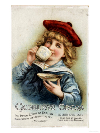 Cadbury's, Cocoa Drinking Chocolate, UK, 1890 Giclee Print