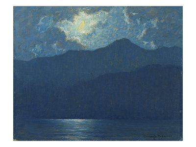 Sunrise over Catalina Island, 1920 Giclee Print by Granville Redmond