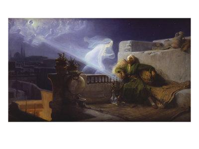 Eastern Dream, Reve D'Orient, 1904 Giclee Print by Jean Jules Antoine Lecomte du Nouy
