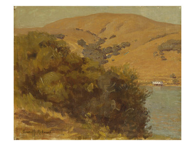 View of the Bay Giclee Print by Granville Redmond