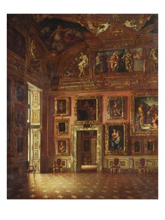 The Apollo Room, Pitti Palace Giclee Print by Silvio Zocchi