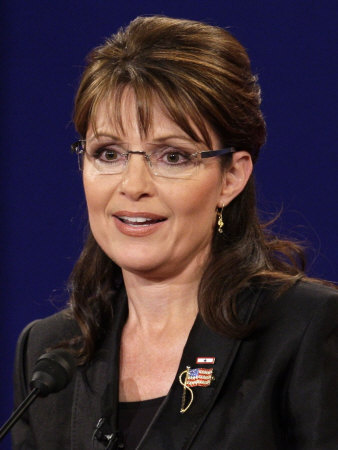 Sarah Palin, Vice Presidential Debate 2008, Oxford, MS Photographic Print