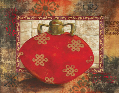 Eastern Wares I Prints by Loretta Linza