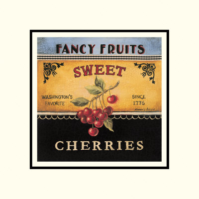 Sweet Cherries Posters by Kimberly Poloson
