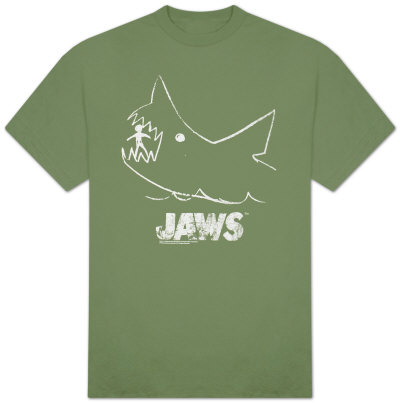 Jaws - Chalk Jaws Camiseta
